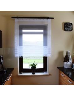 Panel okienny z ozdobnymi...